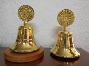 Campana de bronce para sesiones