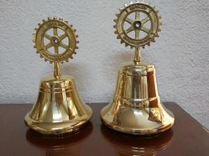 Campana de bronce Rotary