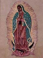 Relieve Virgen de Guadalupe