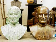 Busto Juan Pablo II